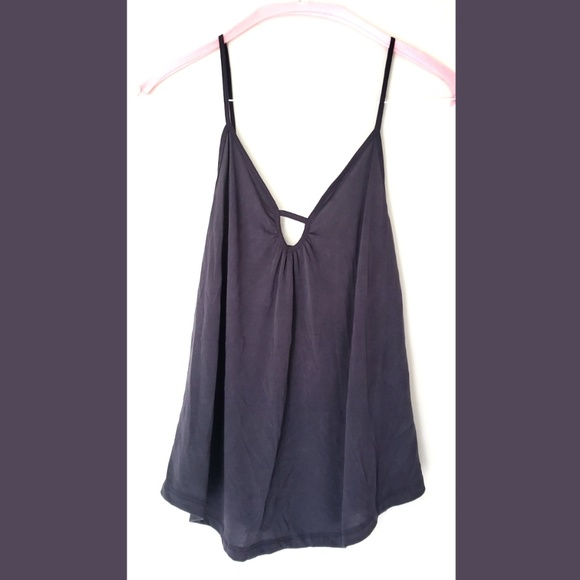 American Eagle Outfitters Tops - American Eagle Soft & Sexy Sueded Keyhole Tank